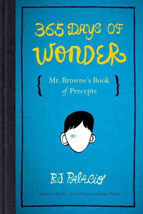 366 Days of Wonder By Palacio, R. J.
